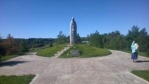 Радонеж - памятник Сергию Радонежскому