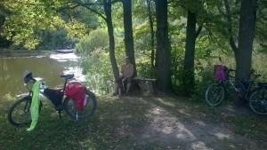 И наши велосипеды