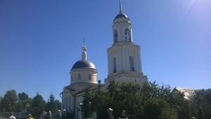 Радонеж - церковь
